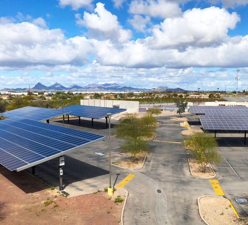 Desert View High School – 1.13MW