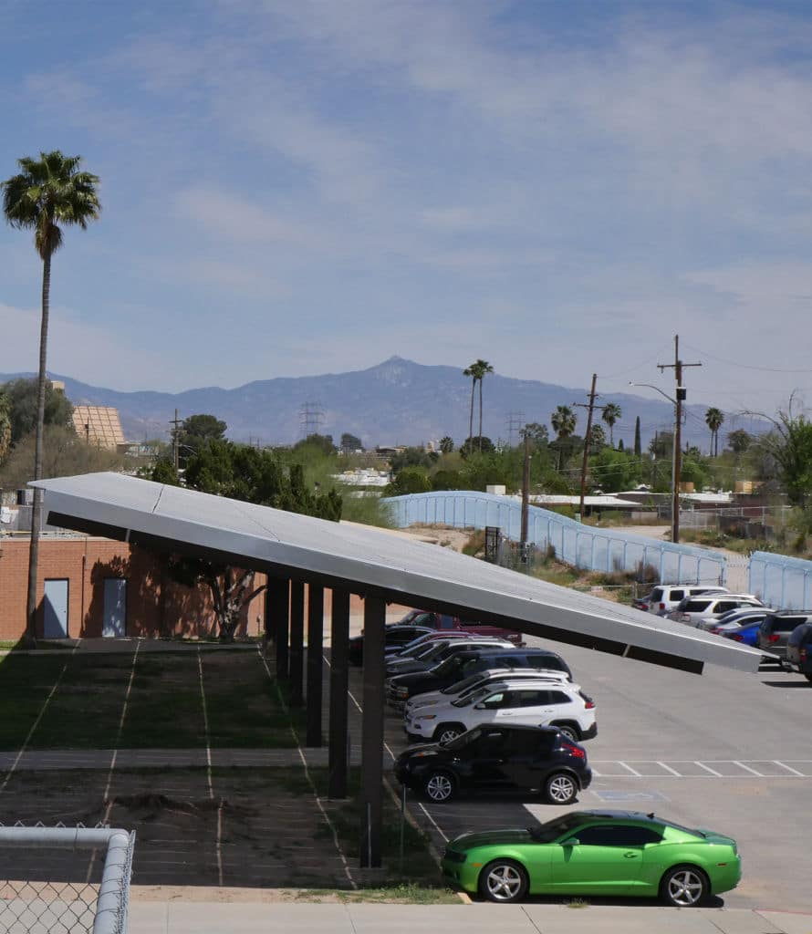 Solar PPA Covered Parking Array