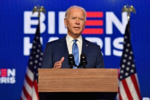 Joe Biden won the presidential election earlier this month