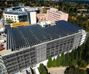 John Muir Hospital's Solar Parking Structure