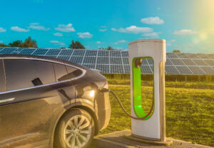 EV Charging Paired with Solar