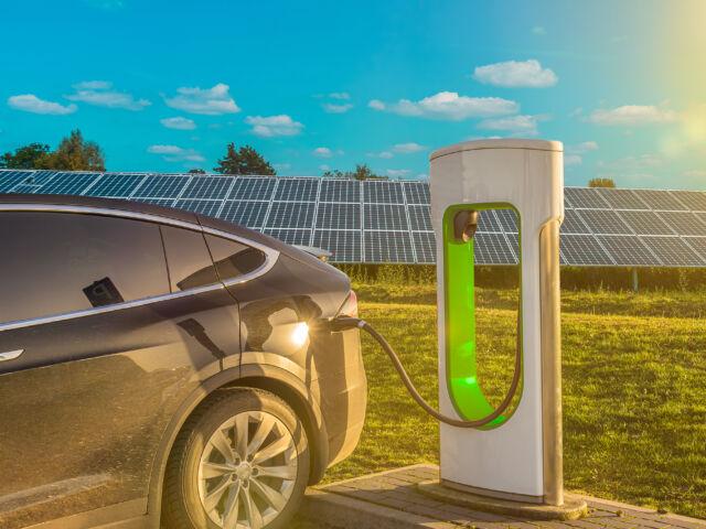 ev charging solar